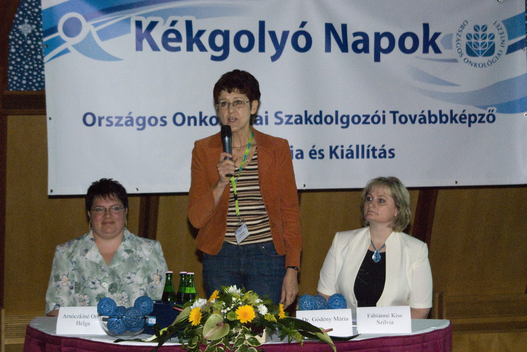 """""""Kékgolyó"""" Days 2009 – National Training Conference and Exhibition for Oncology Nurses"""
