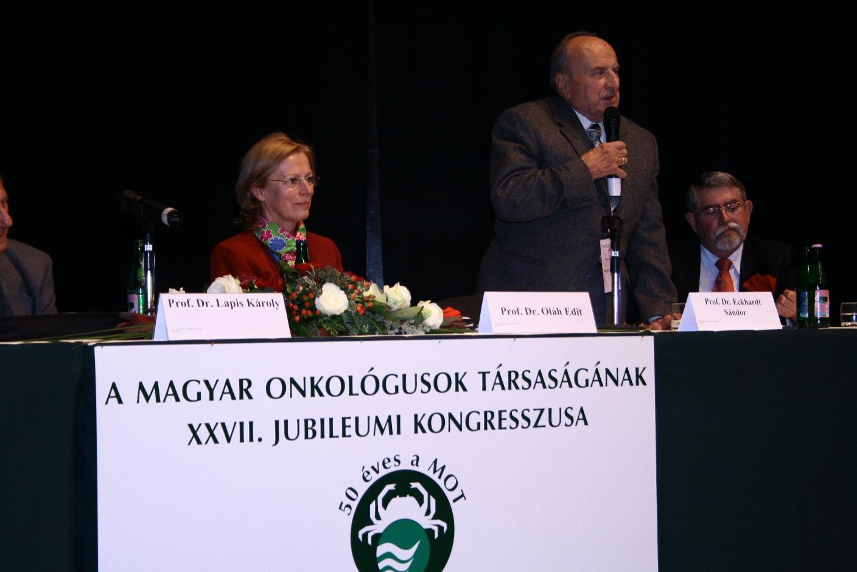 Magyar Onkológusok Társasága XXVII. Jubileumi Kongresszusa 2007
