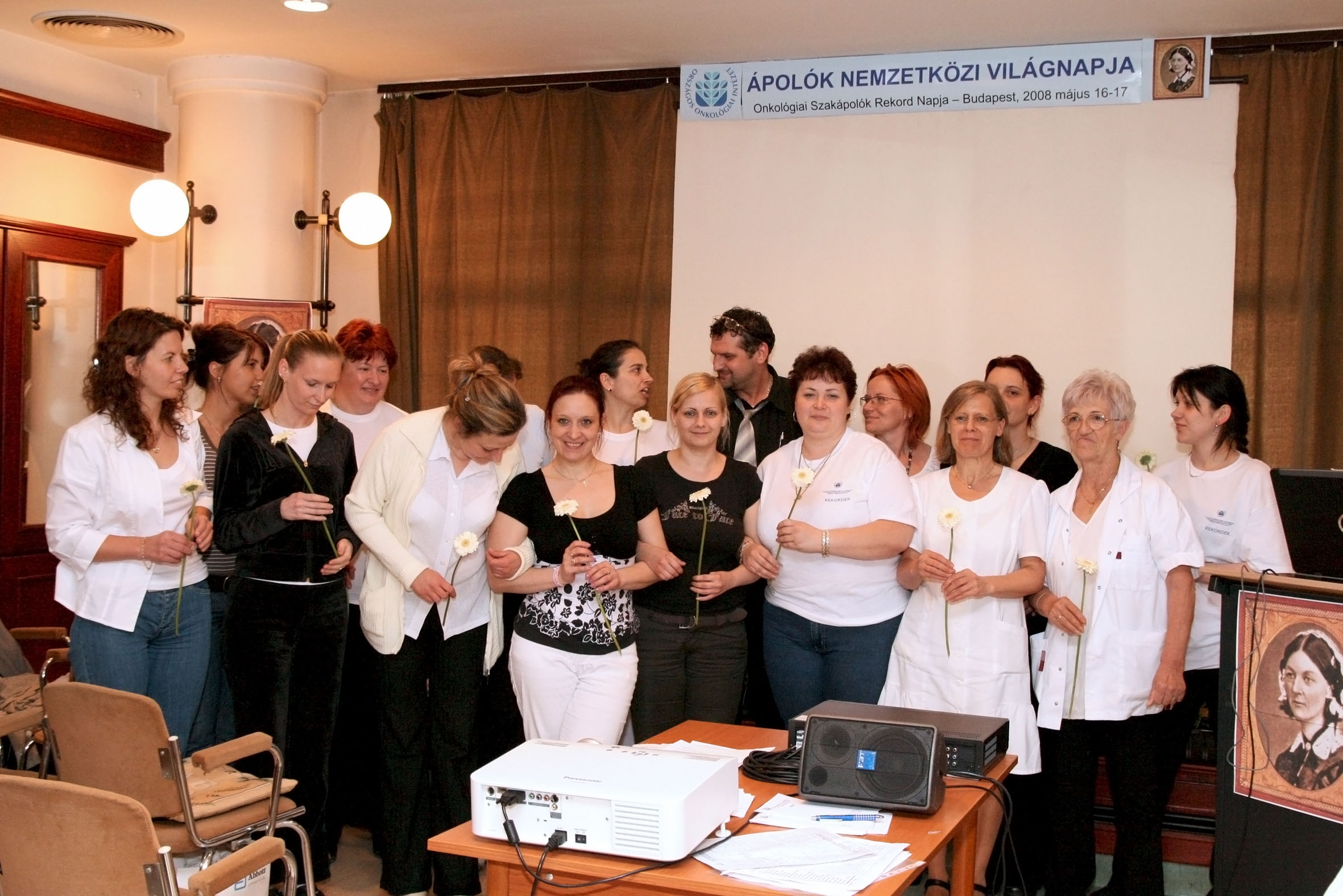 International Nurses Day 2008 – Record day of oncology nurse specialists