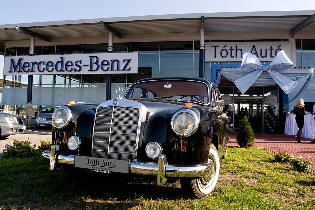 Tóth Autó – Ünnepélyes Mercedes Benz Autószalon megnyitó 2007